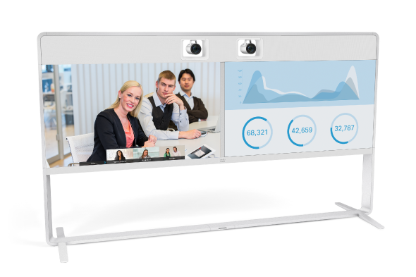 Cisco MX800D Dual-Screen Telepresence Unit
